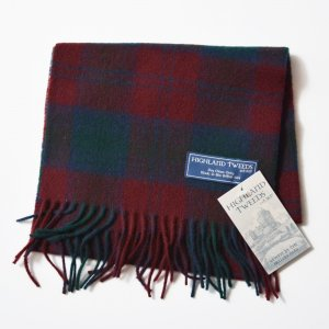 <img class='new_mark_img1' src='//img.shop-pro.jp/img/new/icons8.gif' style='border:none;display:inline;margin:0px;padding:0px;width:auto;' />HIGHLAND TWEED SCARF - WINERED
