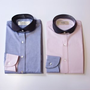 レディース/ TEDDY / Round collar shirts