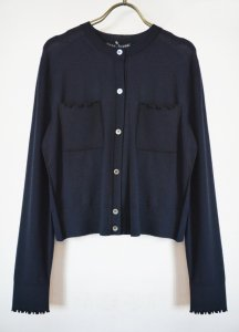 Alexa Chung / カーディガン / RUFFLE TRIM CARDIGAN (2Colors)