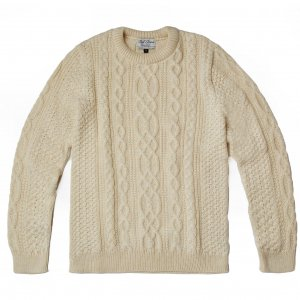 <img class='new_mark_img1' src='//img.shop-pro.jp/img/new/icons8.gif' style='border:none;display:inline;margin:0px;padding:0px;width:auto;' />ユニセックス/ Paul James Knitwear / BRITISH WOOL ARAN JUMPER