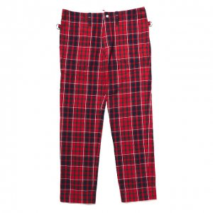 PEEL&LIFT-TARTAN ARMY TROUSERS N/L