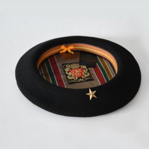 ユニセックス / Laulhere / ベレー帽(Che Guevara Wool Basque Beret)