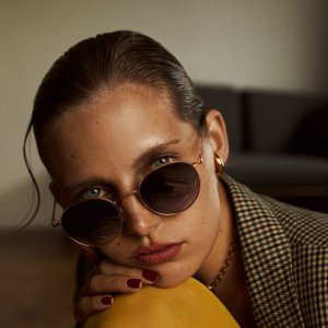 Saskia Diez SPIRITED 22K SUNGLASSES