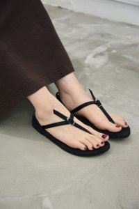 <img class='new_mark_img1' src='https://img.shop-pro.jp/img/new/icons8.gif' style='border:none;display:inline;margin:0px;padding:0px;width:auto;' />BAREFOOT SANDALS(BLACK) / BEAUTIFUL SHOES by TOSHINOSUKE TAKEGAHARA