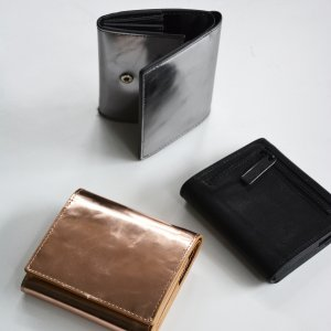Patrick Stephen Leather short wallet 'bellows(三つ折り財布-3colors)
