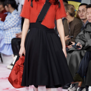 <img class='new_mark_img1' src='https://img.shop-pro.jp/img/new/icons41.gif' style='border:none;display:inline;margin:0px;padding:0px;width:auto;' />SHUSHU/TONG - Belted Flair Skirt