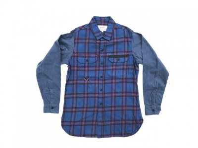 PEEL&LIFT-TARTAN FLANNEL WORK SHIRT