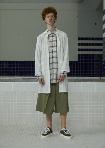 JUN OKAMOTO-Check Long Shirts(2 Colors)