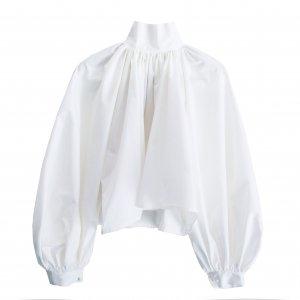 Annik(アニック) / Bouffant sleeve blouse(Cotton White)