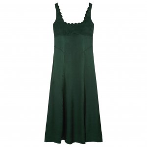 <img class='new_mark_img1' src='//img.shop-pro.jp/img/new/icons8.gif' style='border:none;display:inline;margin:0px;padding:0px;width:auto;' />Alexa Chung / ドレス / Scallop Strap Slip Dress