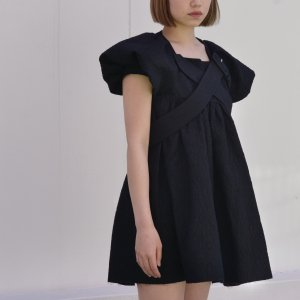 SHUSHU/TONG - Belted dress
