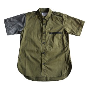 <img class='new_mark_img1' src='https://img.shop-pro.jp/img/new/icons8.gif' style='border:none;display:inline;margin:0px;padding:0px;width:auto;' />PEEL&LIFT-MILITARY S/S SHIRT(2colors)