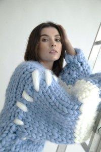 Hope Macauley / Chunky Knit Coat