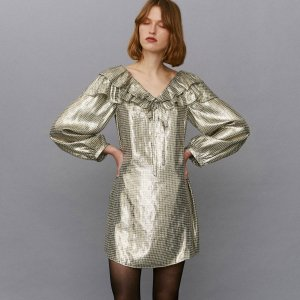 <img class='new_mark_img1' src='https://img.shop-pro.jp/img/new/icons8.gif' style='border:none;display:inline;margin:0px;padding:0px;width:auto;' />Alexa Chung / GIVE THE COLD SHOULDER DRESS