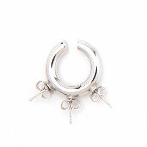 D'HEYGERE / ディヘラ / Stud Ear Cuff Silver