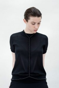 Saskia Diez Black Wood Harness