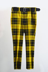 <img class='new_mark_img1' src='https://img.shop-pro.jp/img/new/icons8.gif' style='border:none;display:inline;margin:0px;padding:0px;width:auto;' />TEDDY BELTED SLACKS-MACLEOD CHECK