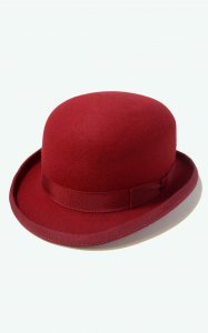 <img class='new_mark_img1' src='https://img.shop-pro.jp/img/new/icons8.gif' style='border:none;display:inline;margin:0px;padding:0px;width:auto;' />Unisex Bowler Hat - Christys' London