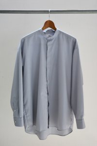 <img class='new_mark_img1' src='https://img.shop-pro.jp/img/new/icons8.gif' style='border:none;display:inline;margin:0px;padding:0px;width:auto;' />TEDDY-STAND COLLAR SHIRTS Indicision Grey