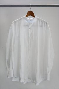 <img class='new_mark_img1' src='https://img.shop-pro.jp/img/new/icons8.gif' style='border:none;display:inline;margin:0px;padding:0px;width:auto;' />TEDDY-STAND COLLAR SHIRTS Random Pleats