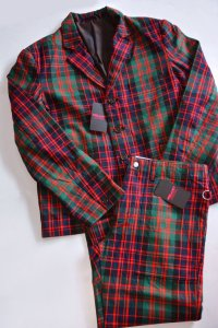 <img class='new_mark_img1' src='https://img.shop-pro.jp/img/new/icons8.gif' style='border:none;display:inline;margin:0px;padding:0px;width:auto;' />PEEL&LIFT  MacDonald tartan box jacket