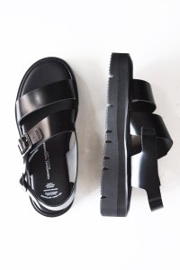 <img class='new_mark_img1' src='https://img.shop-pro.jp/img/new/icons8.gif' style='border:none;display:inline;margin:0px;padding:0px;width:auto;' />BEAUTIFUL SHOES / SS SANDALS(GLOXI CUT THICK SOLE) by TOSHINOSUKE TAKEGAHARA