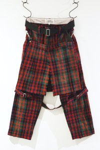 <img class='new_mark_img1' src='https://img.shop-pro.jp/img/new/icons8.gif' style='border:none;display:inline;margin:0px;padding:0px;width:auto;' />PEEL&LIFT-BONDAGE TROUSERS MODERN  WITH KILT(RED)
