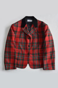<img class='new_mark_img1' src='https://img.shop-pro.jp/img/new/icons8.gif' style='border:none;display:inline;margin:0px;padding:0px;width:auto;' />TEDDY / Not just a classic Jacket (UK Macgregor Tartan)