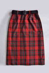<img class='new_mark_img1' src='https://img.shop-pro.jp/img/new/icons8.gif' style='border:none;display:inline;margin:0px;padding:0px;width:auto;' />TEDDY / Not just a classic skirt (UK Macgregor Tartan)