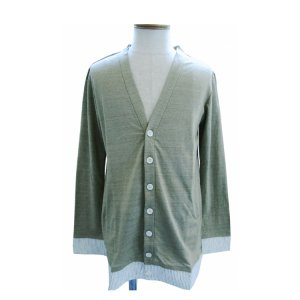 <img class='new_mark_img1' src='//img.shop-pro.jp/img/new/icons41.gif' style='border:none;display:inline;margin:0px;padding:0px;width:auto;' />JUN OKAMOTO-LINEN CARDIGAN(BEIGE)