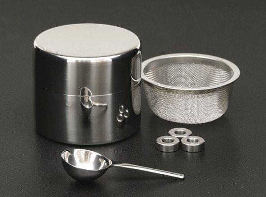 茶道具 抹茶 篩缶(まっちゃ ふるい...