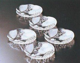 ガラスの器 カントリーフィールド 小皿 5個セット【 完売 】