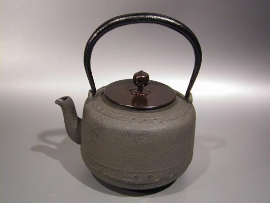 茶道具 鉄瓶 万代屋(もずや)