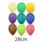 28cm Qualatexバルーン ファッションカラー