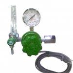 炭酸ガス(CO2)ヒーター内臓流量計付き圧力調整器(減圧器)