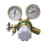 ヘリウム(He)一段式標準圧力調整器(減圧器)/バルブ付き