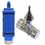 レンタルヘリウムガスボンベ3500L:ワンプッシュ式インフレーター(手締めタイプ)セット