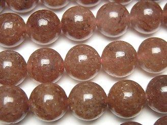 天然石卸 モスコバイトAAA ラウンド12mm 半連/1連(約38cm)