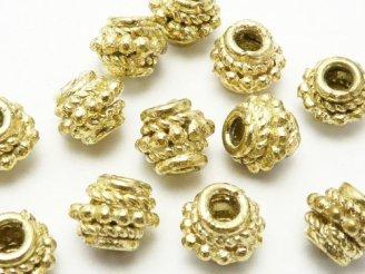 天然石卸 1連980円ブラス(真鍮) ロンデル7×7×6 1連(約18cm)