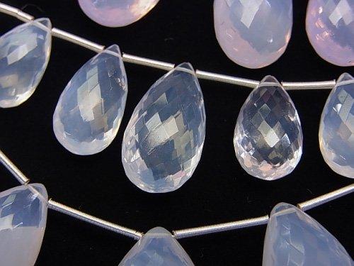 【粒売り】【極上カット】宝石質スコロライトAAA ペアシェイプ ブリオレットカット 1粒