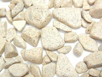 天然石卸 ◆天然記念物◆台湾産高純度北投石 穴なしチップ(さざれ) 100グラム780円〜!
