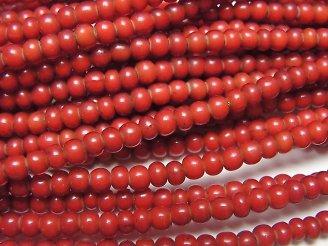 天然石卸 1連580円!インディアン ホワイトハーツビーズ4×4×2.5 1連(約62cm)