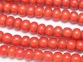 天然石卸 1連780円!インディアン ホワイトハーツビーズ6×6×4 1連(約62cm)