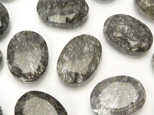 【粒売り】宝石質トルマリンクォーツAAA 大粒オーバルカット 3粒1,980円!