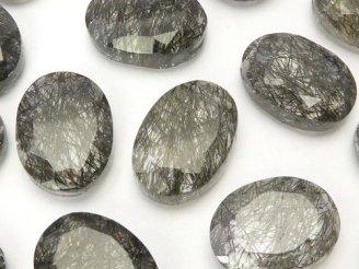 天然石卸 粒売り!宝石質トルマリンクォーツAAA 大粒オーバルカット 3粒1,980円!