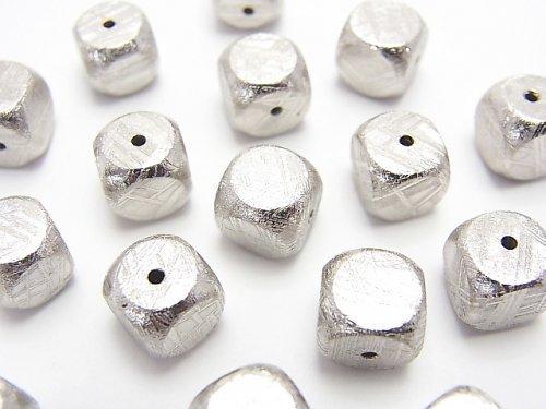 【粒売り】メテオライト(ムオニナルスタ隕石) キューブ8×8×8mm 1粒