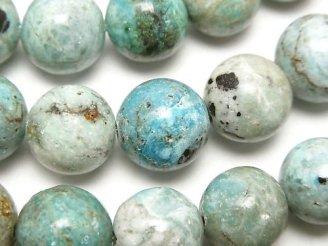 天然石卸 ブルーオパール ラウンド12mm 半連/1連(約36cm)