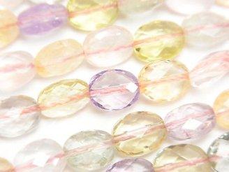 【動画】宝石質いろんな天然石AAA- オーバルカット9×7×4mm 1/4連〜1連(約38cm)