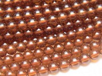 天然石卸 宝石質ヘソナイトAAA ラウンド4mm 半連/1連(約38cm)