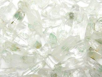 天然石卸 マダガスカル産グリーンファントムクォーツAA+ 穴なしラフタンブル 100グラム380円!